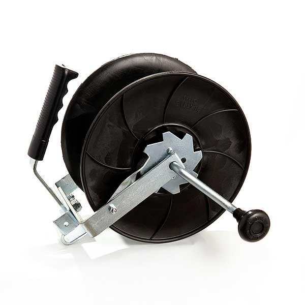 fence reel with carry handle